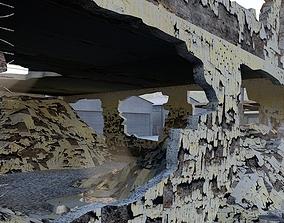 DAMAGED BUILDING house 3D model