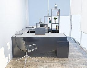 3D concrete Office design
