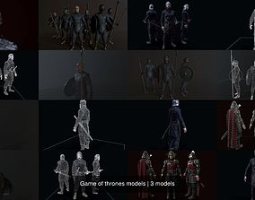 Game of thrones models 3D
