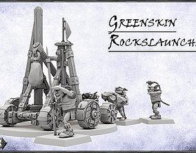 Greenskins RocksLauncher -UNIT- 28mm 3D printable model