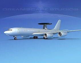 Boeing E-3D AEW RAF rigged