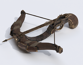 3D model One handed crossbow
