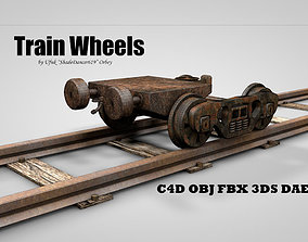 TRAIN WHEELS 3D model PBR