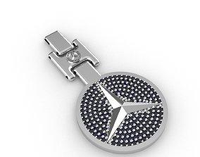 key ring mercedes benz 3D print model