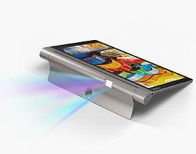 Lenovo Yoga Tab 3 Pro 3D model game-ready