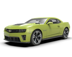 Chevrolet Camaro ZL1 Car 3D model