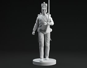 3D print model French Grande Armee Soldier statue