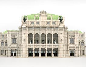State opera building - Vienna Austria 3D model