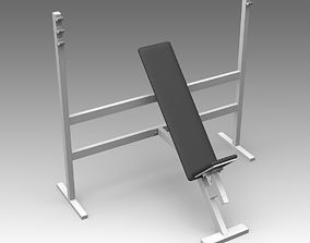 Bench for fitness 13 3D