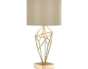 3D model Lamp Lucia Tucci Naomi T4730-1 Gold