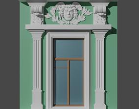 Ornamental window 3D printable model