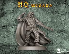 3D print model HQ Wizard