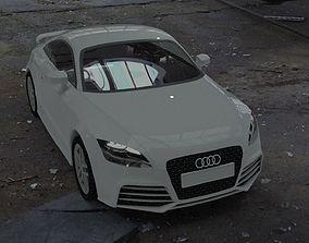 3D asset Audi TT RS 2010