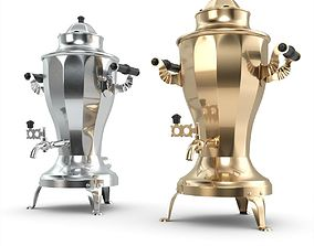 Russian USSR Electric Samovar 3D