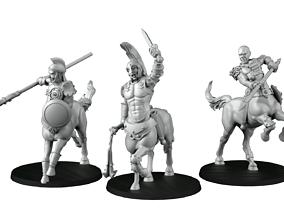 Centaurs dragons 3D printable model
