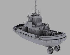 3D model Tug Boat