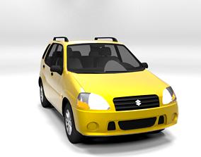 SUZUKI IGNIS 2001 5D LOWPOLY 3D model