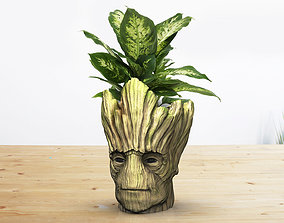 Groot Vase - Guardians of the Galaxy - 3D print model 1