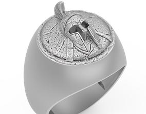 3D printable model spartan ring