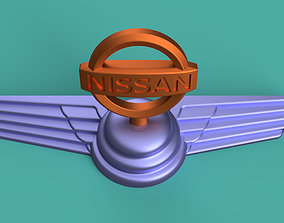 3D printable model car logo