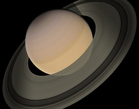 3D model Saturn