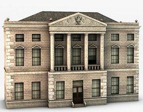 Castle ward house 3D model