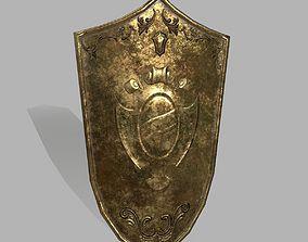 sword Shield 3D asset game-ready