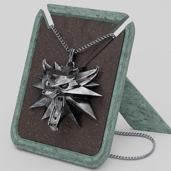 Witcher medallion