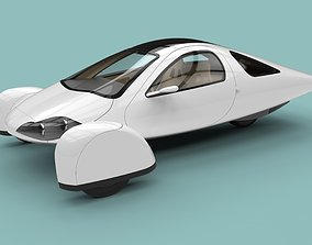 3D model Aptera electric car
