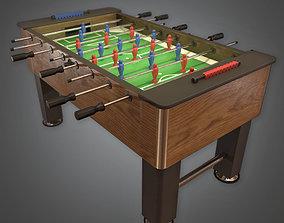 ARC1 - Foosball Arcade Table - PBR Game Ready 3D model
