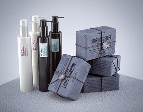 3D model Decorative Luxury Soap and Bodywash Hudson Made