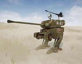 WWII Allies Sherman Walker 3D model