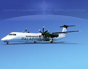 Dehaviland DHC-8 400 Paladino Charters 3D