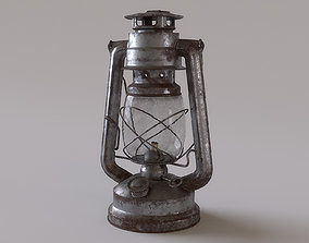 3D Rusty Storm Lantern