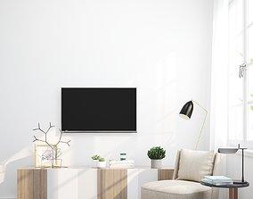 3D model living room 1