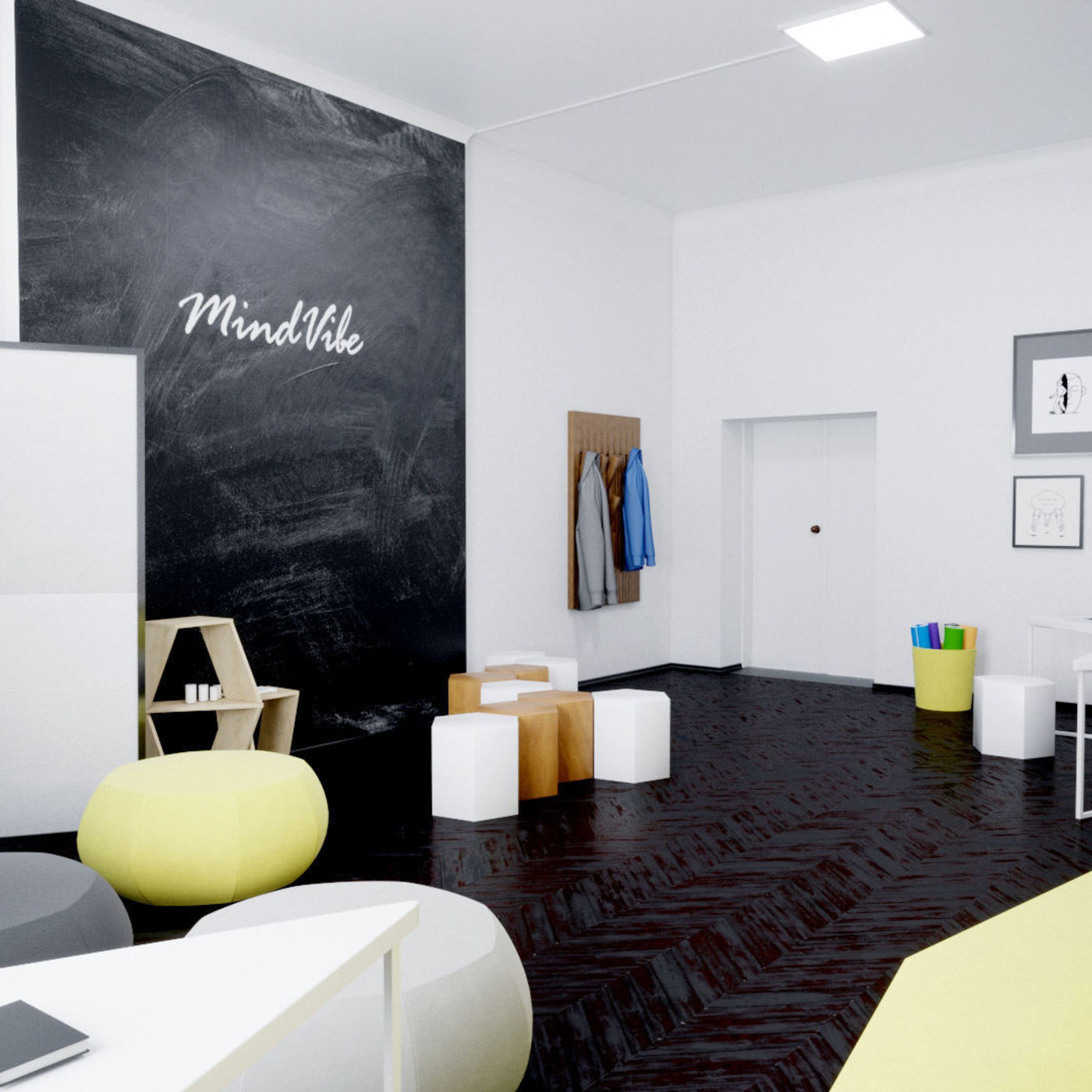 design and visualization of mindvibe office