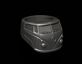 50s 3D print model car ring 13