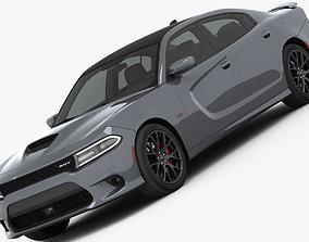 3D model Dodge Charger SRT 392 2015 detailed interior