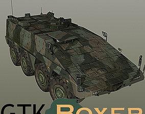 3D asset GTK Boxer with interior
