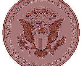 Presidential service badge 3D printable model