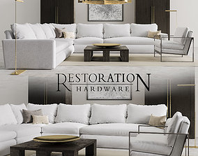 Restoration Hardware Set 2 premium 3D