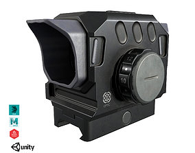 3D model VR / AR ready DI Optical EG1 Red Dot Sight