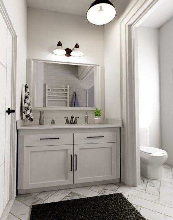 Bathroom Render 3D