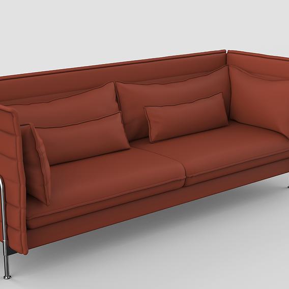 Alcove Highback Sofa Basic