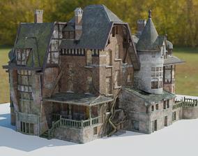 Abandoned Mansion - Pbr 3D model
