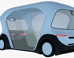 3D Bosch driverless minibus