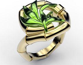 Ring Bamboo 3D printable model