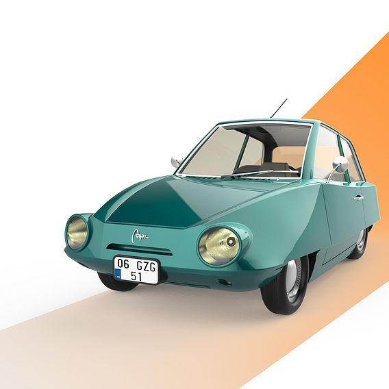 Old Mini Car Design