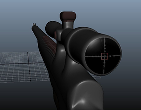 game-ready Sniper 3D