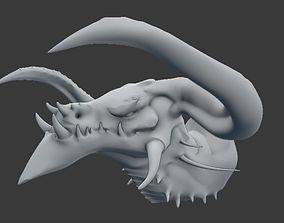 3D printable model Red Dragon Trophy
